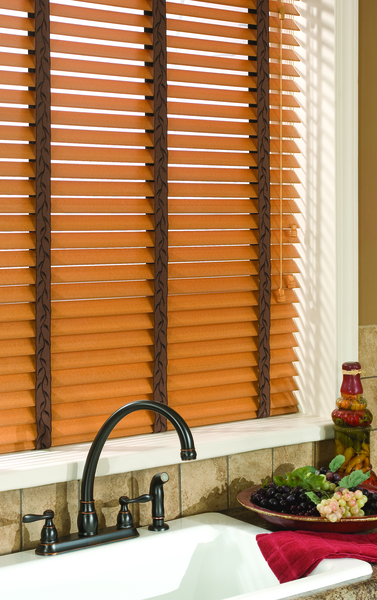 "B2d Economy 2"" Fauxwood Blinds"