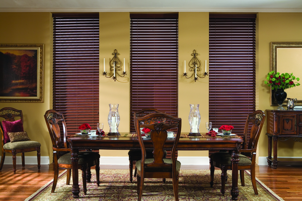 "B2d 2"" Luxury Fauxwood Blinds"