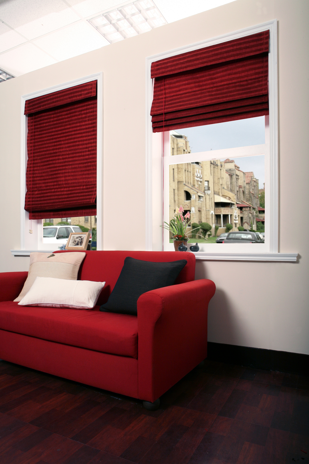 B2d Flatfall Roman Shades Group A