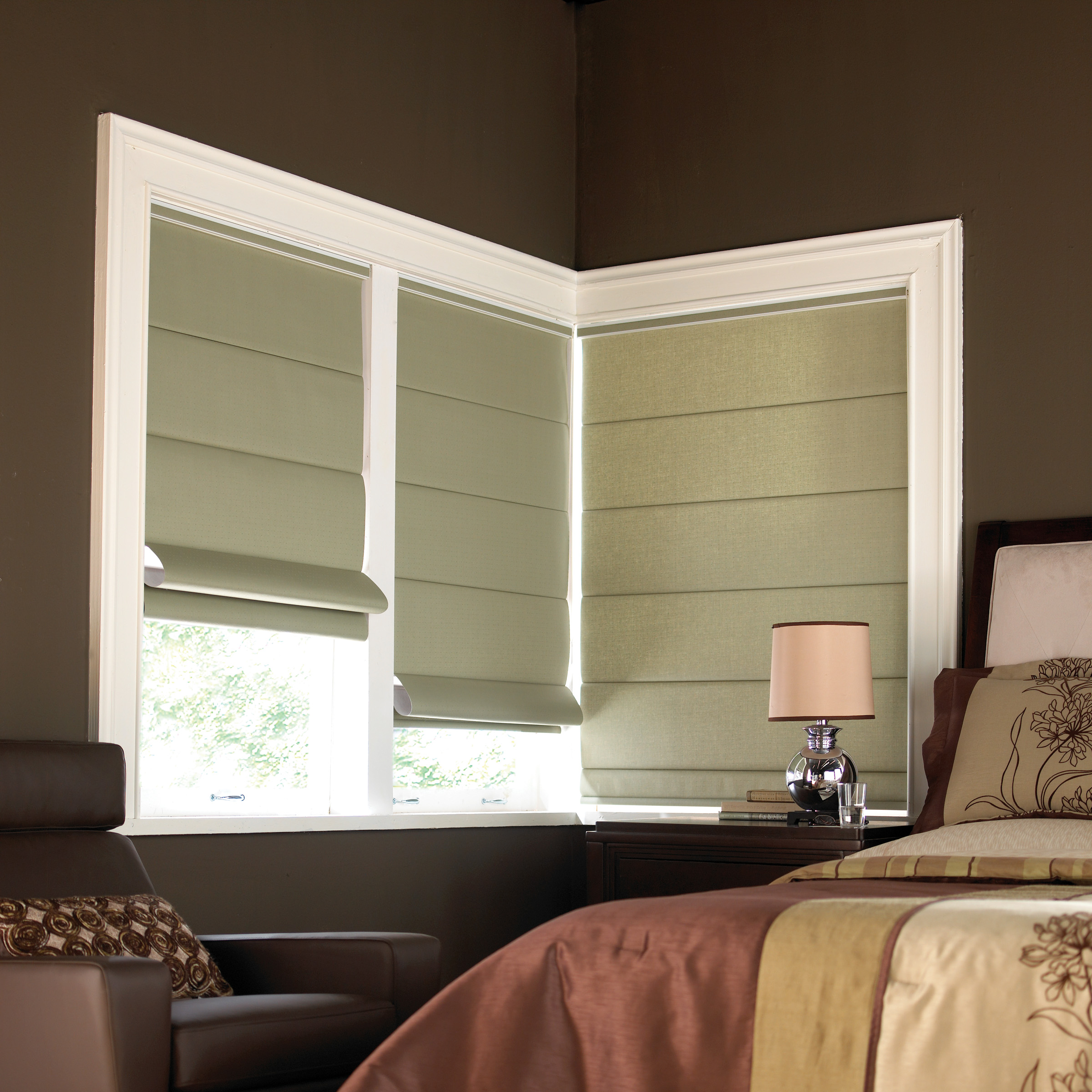 B2d Super Value Luxury Roman Shades